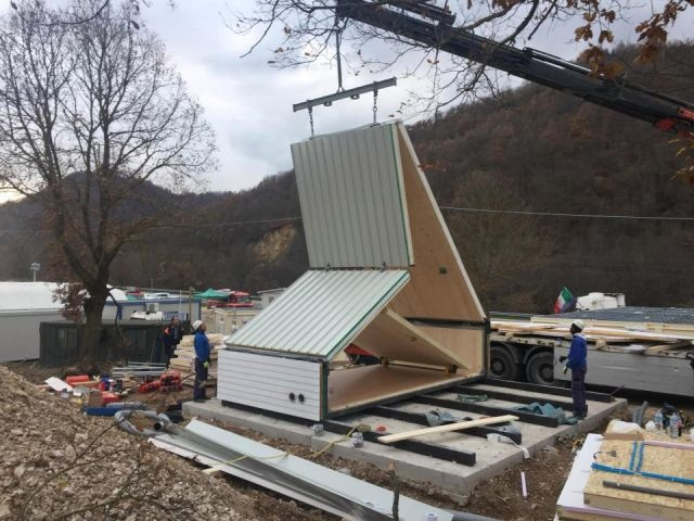 Создан складной дом, который можно установить всего за 6 - 7 часов