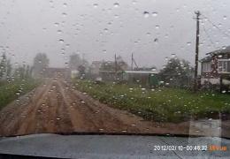 Торнадо в Янауле (Башкирия 29.08.2014)