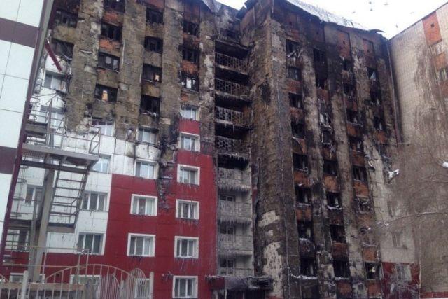 Полиция задержала мужчину, который поджог многоэтажку в Тюмени