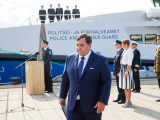 Департамент полиции и погранохраны получил новое патрульное судно стоимостью 16 млн евро