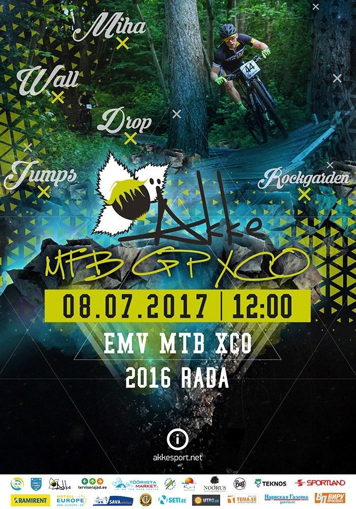 Äkke GP MTB XCO 2017 — соревнования по горному велосипеду в Нарве