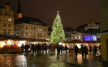 В этом году в Эстонию на Новый год приедет больше россиян, чем в прошлом