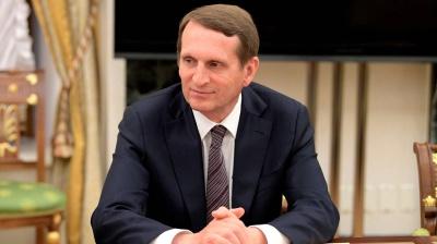 Глава СВР Нарышкин посетил Вашингтон, находясь под санкциями
