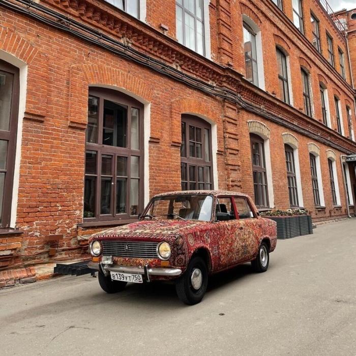 Студент МАДИ передает привет советскому наследию
