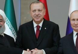 Политолог: совместное заявление РФ, Ирана и Турции по Сирии – сигнал США