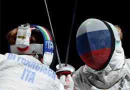 Россиянка Инна Дериглазова стала олимпийской чемпионкой в фехтовании на рапирах