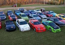 Самая большая в мире частная коллекция автомобилей из кинофраншизы «Форсаж»