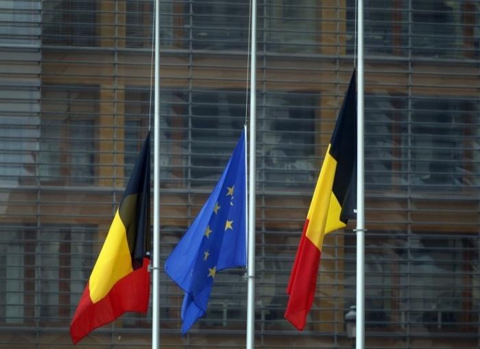 в Бельгии начался трехдневный траур по погибшим в терактах 22 марта