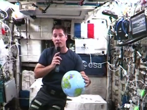 Жители Эстонии впервые смогли задать вопросы астронавту с МКС