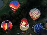 Международный фестиваль воздушных шаров в Мексике