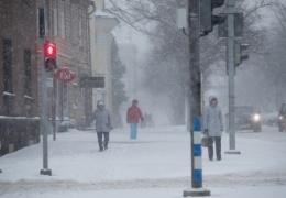 Синоптики обещают морозную погоду к выходным, но выпавший на неделе снег может растаять