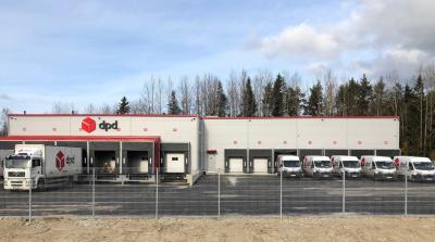 Компания DPD открыла в Йыхвиском бизнес-парке новый терминал стоимостью свыше миллиона евро