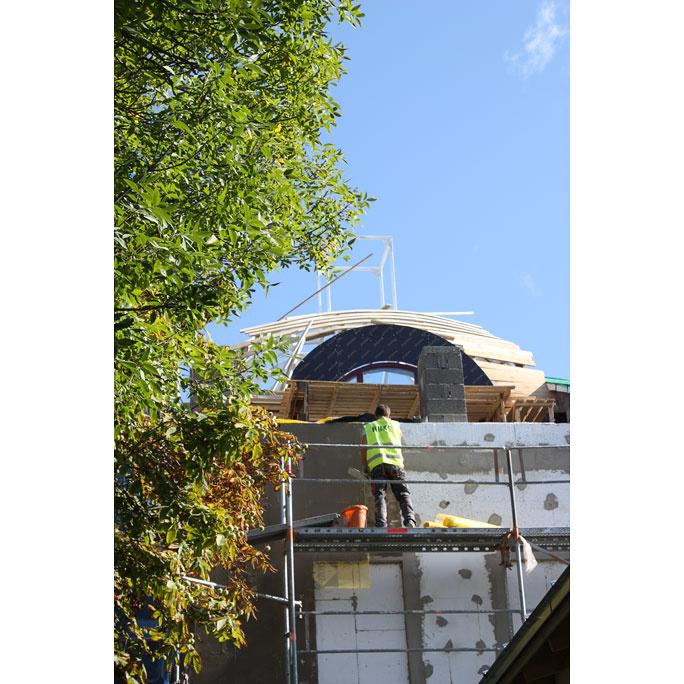 Появление купола на здании Кайтселийта показалось нарвитянам подозрительным