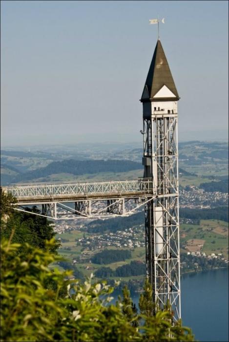 Лифт Hammetschwand — самый высокий наружный лифт в Европе