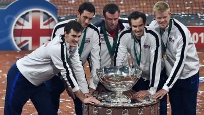 Сборная Великобритании впервые за 79 лет стала обладателем Кубка Дэвиса
