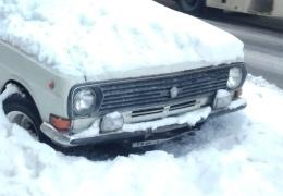 Припарковался на всю зиму