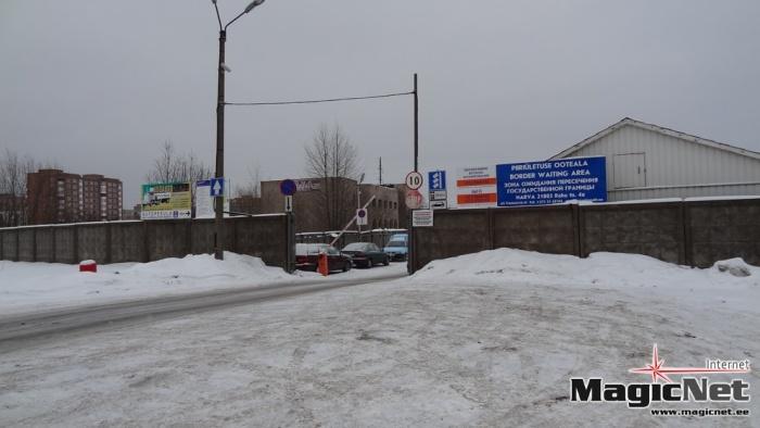 Транзитную площадку фирмы Transservis-N в Нарве могут закрыть