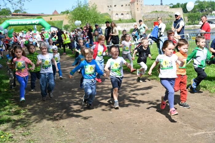 ФОТО: в субботу в Нарве состоялся энергетический забег