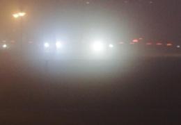Густой туман и плохая видимость стали причиной ДТП в Нарве