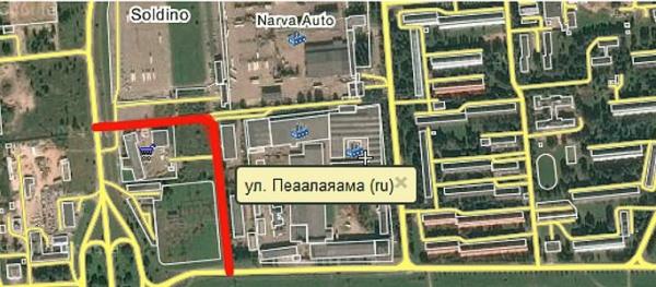 """Ремонт улицы между """"отстойником"""" и Кересе пока не запланирован"""