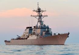 """Пентагон обнародовал ВИДЕО полета российского штурмовика, """"испугавшего"""" эсминец США в Черном море"""