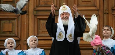 Патриарх Кирилл пожелал народу Эстонии мира и благополучия