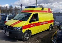 В Тарту обрушилась плитняковая подпорная стена, спасатели ищут пострадавших