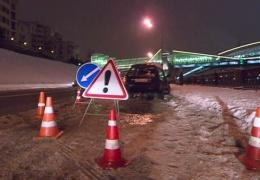 Спасение на Москве-реке: автоинспектор прыгнул в воду за тонущей машиной