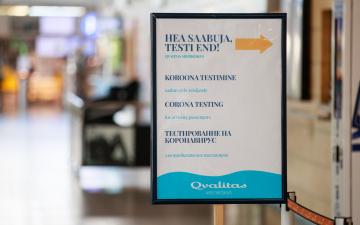 В Эстонии за сутки выявили 50 новых случаев заражения коронавирусом, из них 30 - в Ида-Вирумаа
