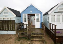 Пляжный домик в Великобритании за 250 000 фунтов стерлингов