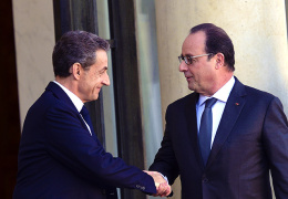 Саркози призывает Францию к совместным действиям с Россией против террористов