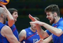 Российские волейболисты победили египтян на олимпийском турнире