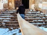 Австралийская пара восстанавливает заброшенный французский замок XVIII века