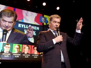 После победы на выборах президент Финляндии заговорил по-русски
