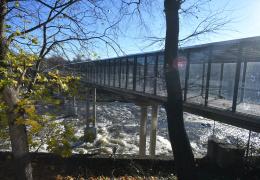 """ФОТО: после длительной реконструкции снова открылся пограничный пункт """"Нарва-2"""""""