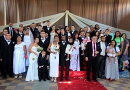 В тюрьме Колумбии состоялась массовая свадьба