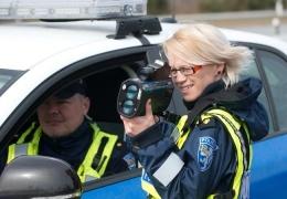 Сегодня по всей Эстонии полиция измеряет скорость