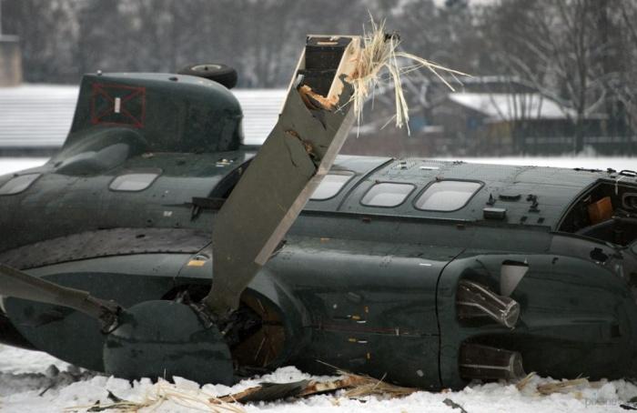 Столкновение вертолетов в Берлине