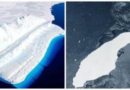 От Антарктиды откололся самый гигантский айсберг в мире