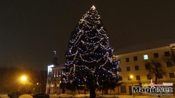 Председатель горсобрания Нарвы встал на защиту новогодней елки
