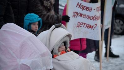 Противники закрытия детского отделения Нарвской больницы намерены обратиться к канцлеру права