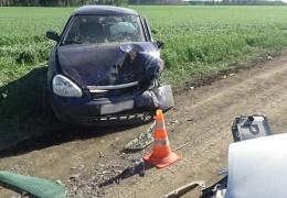 Авария на пустой дороге
