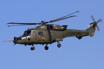 В Эстонию прибыли четыре британских военных вертолета Wildcat