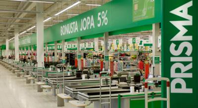Супермаркет Prisma в Риге закрыли из-за деформации конструкций здания