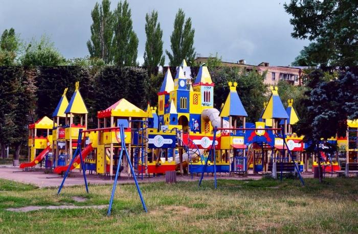 Cамые необычные детские площадки Киева