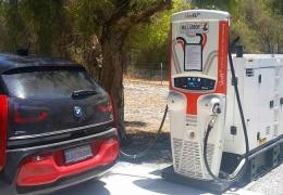 В Австралии электромобили заряжает дизельный генератор