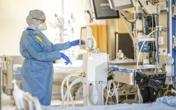 С 15 сентября в Северо-Эстонской региональной больнице действует запрет на посещение пациентов