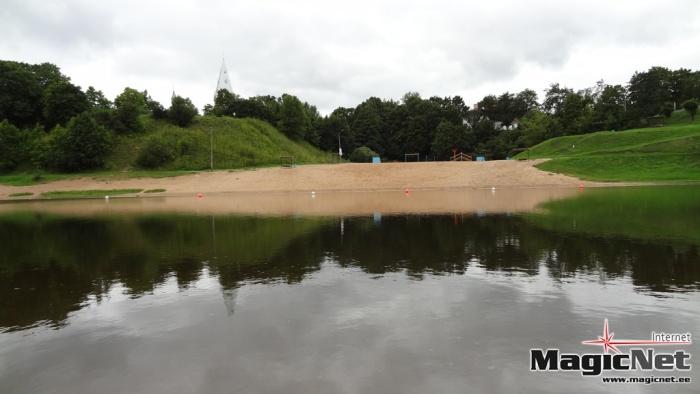 В Нарве запретили купаться в Липовой ямке