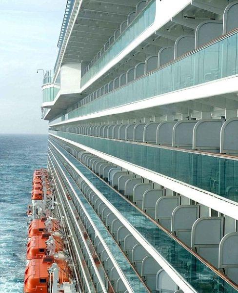 Прогулка по самому большому круизному лайнеру