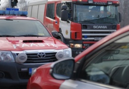 В Силламяэ при пожаре в квартире погибли женщина и ребенок